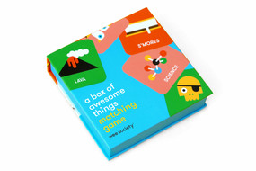 A Box of Awesome Things Matching Game (A Memory Game with 20 Matching Pairs for Children) by Wee Society, 9781524759544