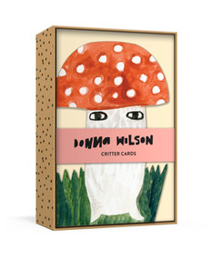 Donna Wilson Critter Cards (12 Die-Cut All-Occasion Blank Boxed Notecards and Envelopes with Sticker Sheet) by Donna Wilson, 9780525572862