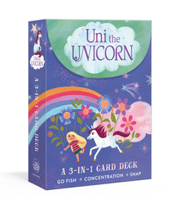 Uni the Unicorn: A 3-in-1 Card Deck (Card Games Include Go Fish, Concentration, and Snap) (Miniature Edition) by Amy Krouse Rosenthal, Brigette Barrager, 9780593137130