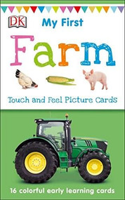 My First Touch and Feel Picture Cards: Farm by DK, 9781465468147