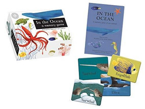In the Ocean (a memory game) (Miniature Edition) by Libby Walden, Stephanie Fizer Coleman, 9781944530396