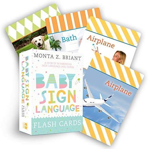 Baby Sign Language Flash Cards (A Deck of 50 American Sign Language (ASL) Cards) (Miniature Edition) - 9781401957247 by Monta Z. Briant, 9781401957247