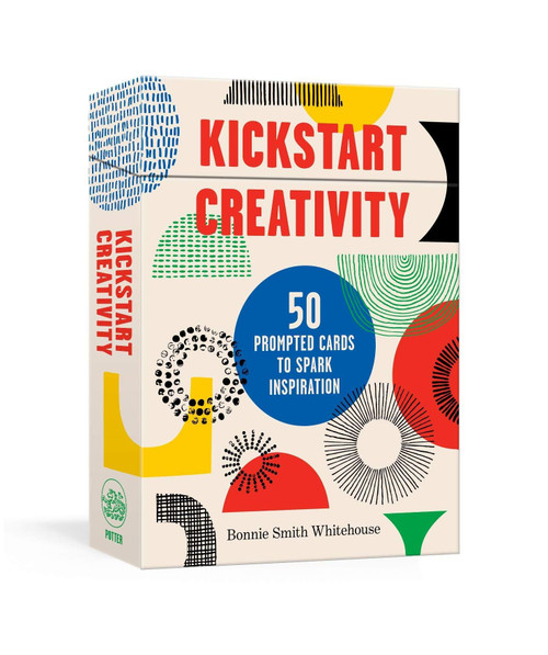 Kickstart Creativity (50 Prompted Cards to Spark Inspiration) by Bonnie Smith Whitehouse, 9780593137703