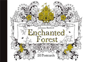 Enchanted Forest Postcards (20 Postcards) by Johanna Basford, 9781856699792