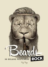Beards Rock (30 Deluxe Postcards) by Sarah La Barbière de Paris, 9782374950099