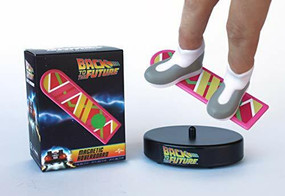 Back to the Future: Mini Hoverboard (With Magnetic Sneakers) (Miniature Edition) by Running Press, 9780762497058