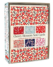 Cherry Blossom Note Cards (12 Blank Note Cards & Envelopes (4 x 6 inch cards in a box)) by  Tuttle Editors, 9780804851541