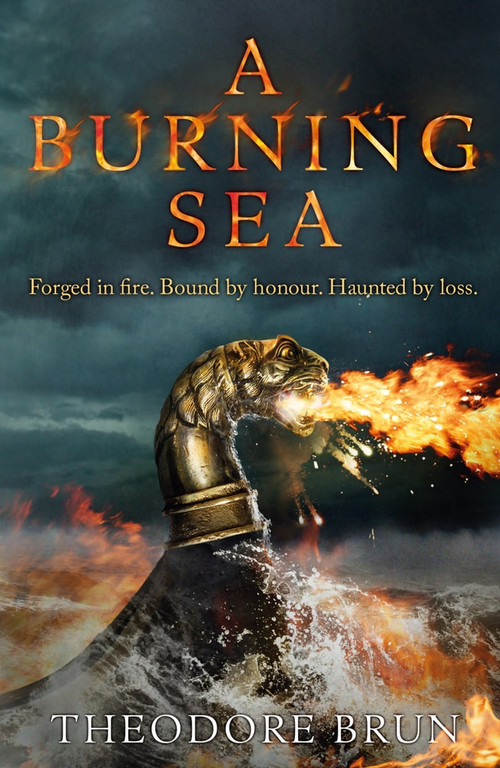 A Burning Sea by Theodore Brun, 9781786496157