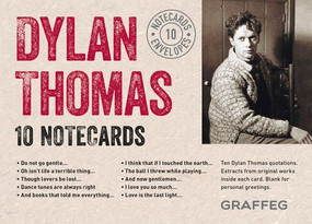 Dylan Thomas Notecards (complete set) (10 cards and envelopes) by Dylan Thomas, 9781909823587