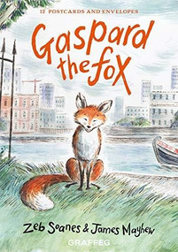 Gaspard the Fox Postcard Pack by James Mayhew, Zeb Soanes, 9781912654208