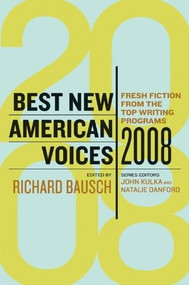 Best New American Voices 2008 by John Kulka, Natalie Danford, 9780156031493