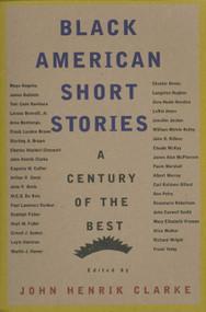 Black American Short Stories (A Century of the Best) by John Henrik Clarke, 9780374523541