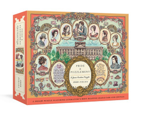 Pride and Puzzlement: A Jane Austen Puzzle (A 1000-Piece Jigsaw Puzzle Featuring Literature's Most Beloved Characters and Couples: Jigsaw Puzzles for Adults) by Jacqui Oakley, 9780593137642