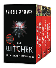 The Witcher Boxed Set: Blood of Elves, The Time of Contempt, Baptism of Fire by Andrzej Sapkowski, David A French, 9780316438971