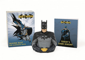Batman: Talking Bust and Illustrated Book (Miniature Edition) by Matthew K. Manning, 9780762458622