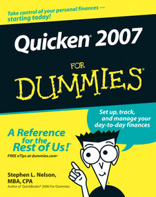 Quicken 2007 For Dummies by Stephen L. Nelson, 9780470046005