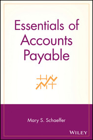 Essentials of Accounts Payable by Mary S. Schaeffer, 9780471203087