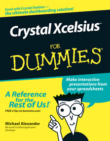 Crystal Xcelsius For Dummies by Michael Alexander, 9780471779100