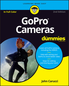 GoPro Cameras For Dummies by John Carucci, 9781119285540