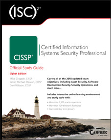 (ISC)2 CISSP Certified Information Systems Security Professional Official Study Guide - 9781119475934 by Mike Chapple, James Michael Stewart, Darril Gibson, 9781119475934