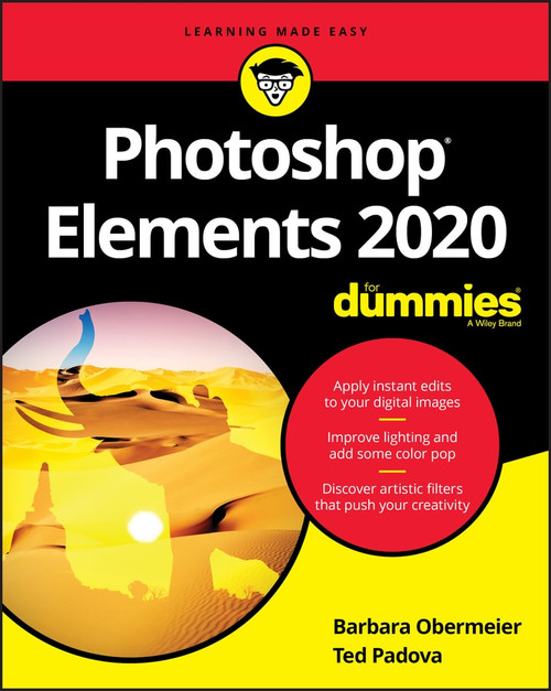Photoshop Elements 2020 For Dummies by Barbara Obermeier, Ted Padova, 9781119605515
