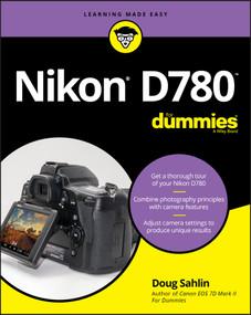 Nikon D780 For Dummies by Doug Sahlin, 9781119716372