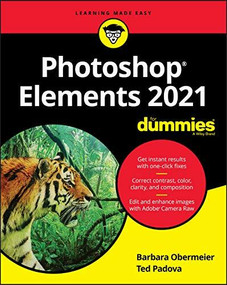 Photoshop Elements 2021 For Dummies by Barbara Obermeier, Ted Padova, 9781119724124