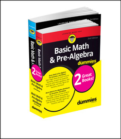 Basic Math & Pre-Algebra For Dummies Book + Workbook Bundle by Mark Zegarelli, 9781119387107