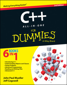 C++ All-in-One For Dummies - 9781118823781 by John Paul Mueller, Jeffrey M. Cogswell, 9781118823781