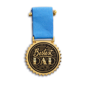 Bestest Dad - Medal (Miniature Edition), 10133