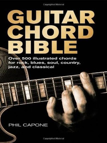 Guitar Chord Bible by Phil Capone, 9780785820833