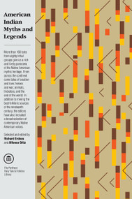 American Indian Myths and Legends by Richard Erdoes, Alfonso Ortiz, 9780394740188