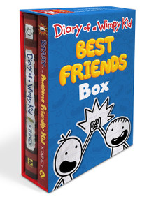Diary of a Wimpy Kid: Best Friends Box (Diary of a Wimpy Kid Book 1 and Diary of an Awesome Friendly Kid) by Jeff Kinney, 9781419745744