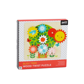 Wood Twist Puz Busy Tree by Petit Collage, 5055923789933