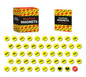 BuzzFeed Magnets (Miniature Edition) by BuzzFeed, Jessie Oleson Moore, 9780762473953