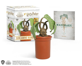 Harry Potter Screaming Mandrake (With Sound!) (Miniature Edition) by Donald Lemke, 9780762474776
