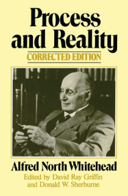Process and Reality by Alfred North Whitehead, 9780029345702