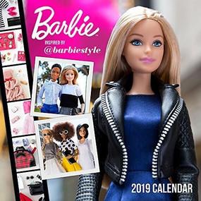 Barbie @barbiestyle 2019 Wall Calendar by Mattel, 9781419732690