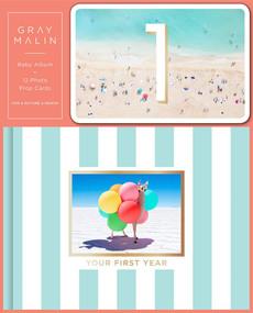 Gray Malin: Baby Album and 12 Photo Prop Cards (Boxed Set) by Gray Malin, 9781419743771