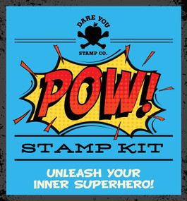 POW! Stamp Kit (Miniature Edition) by Dare You Stamp Co., 9781604338768
