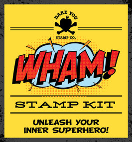WHAM! Stamp Kit (Miniature Edition) by Dare You Stamp Co., 9781604338775