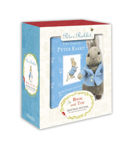 Peter Rabbit Book and Toy by Beatrix Potter, 9780723253563