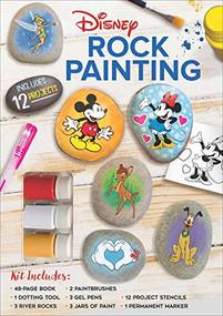 Disney Rock Painting by Editors of Thunder Bay Press, 9781645174684
