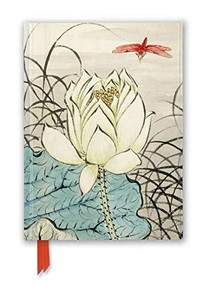 Ashmolean: Ren Xiong: Lotus Flower and Dragonfly (Foiled Journal) by Flame Tree Studio, 9781839644658