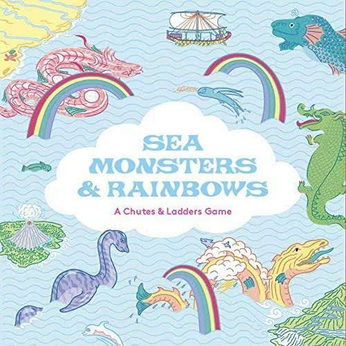 Sea Monsters & Rainbows (A Chutes & Ladders Game) by Anna Claybourne, Sister Arrow, 9781913947354