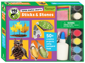 Super Simple Crafts: Sticks and Stones by Editors of PBS KIDS, 9781935703846