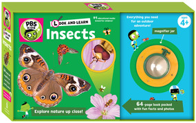 Look and Learn Insects by PBS KIDS, Sarah Parvis, 9781935703853