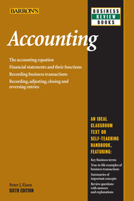 Accounting by Peter J. Eisen, 9781438001388
