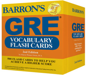 GRE Vocabulary Flash Cards (Miniature Edition) by Sharon Weiner Green, 9781438076089