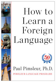 How to Learn a Foreign Language by Paul Pimsleur, 9781442369023